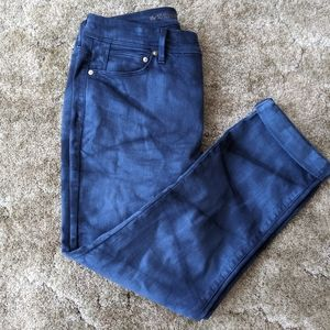 5 for $15! Chico's blue tie dye effect jeans